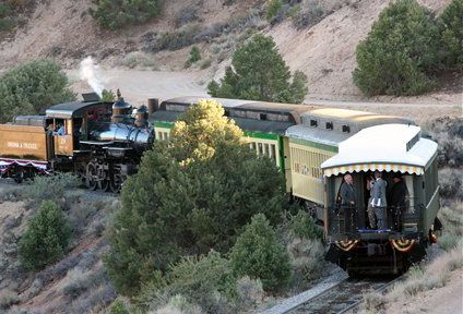 V&T Railroad steams through history