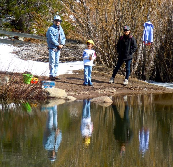 Fishing season in lake tahoe lures locals and tourists for Shore fishing lake tahoe