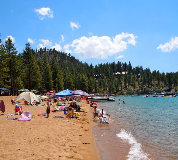 Lake Tahoe Vacation Rentals On The Water: Tahoe Round Hill Pines Beach Resort