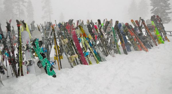 Skiers spending fewer days on the slopes