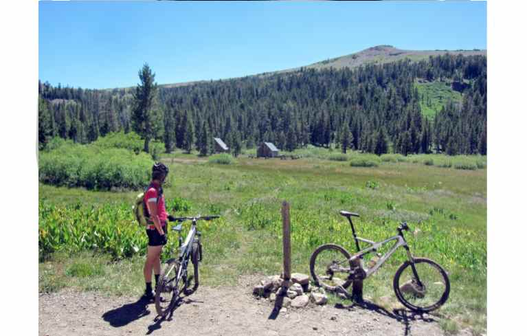 Bike Pacific Crest Trail and Pacific Crest Trail at