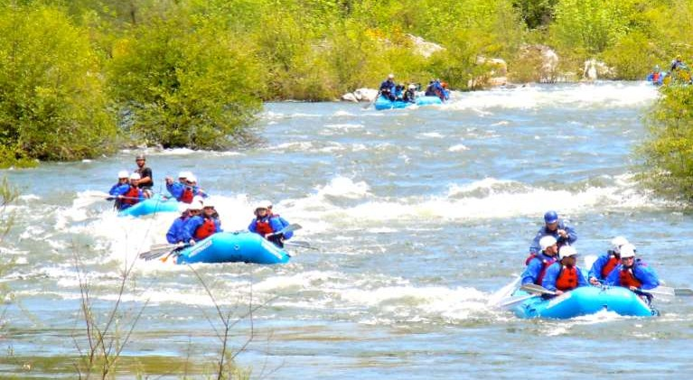 Drought may not hurt whitewater rafting season