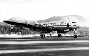 TWA was one of several airlines that used to fly into Lake Tahoe Airport. Photo/Del Laine
