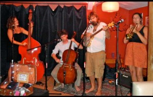 The New Thoreaus play at Divided Sky on June 8. Photos/Kathryn Reed
