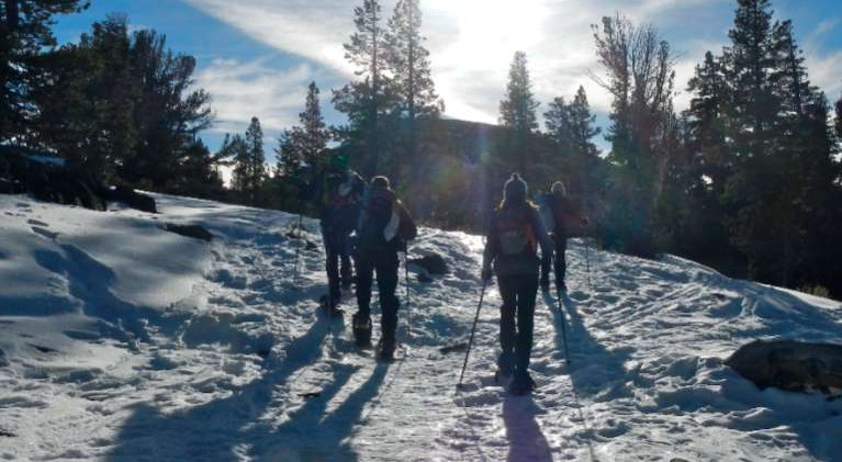 Winter Trails Day in Truckee