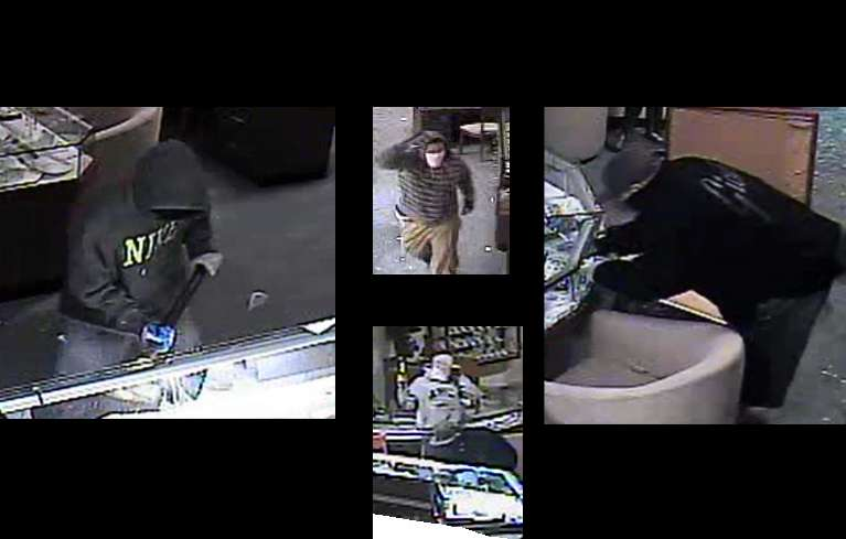 Police looking for jewelry store thieves lake tahoe for Lake tahoe jewelry stores