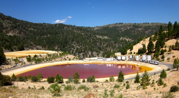Toxic Alpine County sulfur mine settlement near