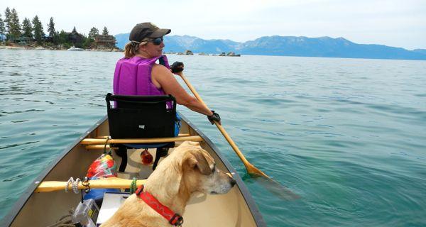 Water trail signs help Lake Tahoe paddlers