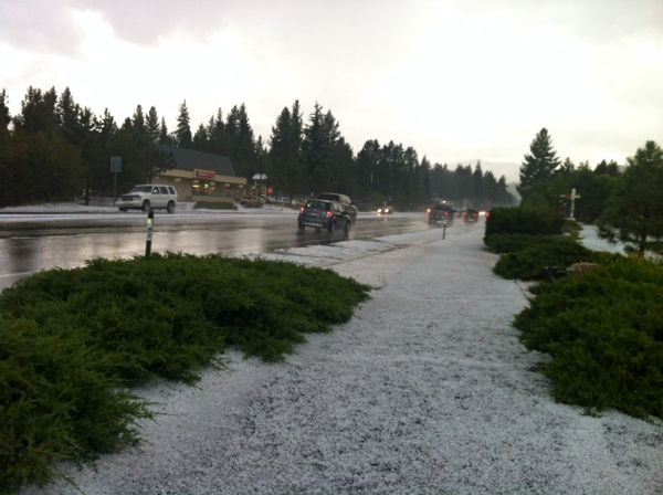 hail storm turns south shore winter white lake tahoe. Black Bedroom Furniture Sets. Home Design Ideas