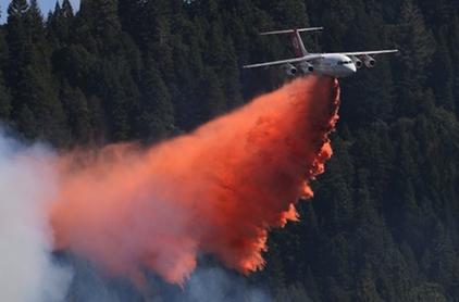 King Fire uses record amount of retardant