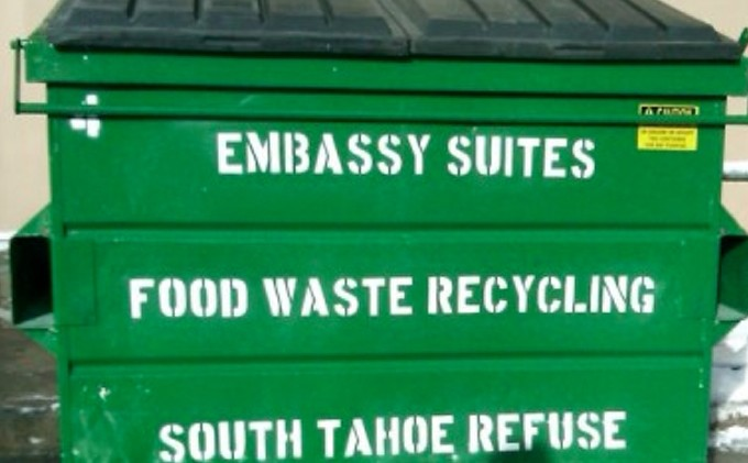 Buffets a huge culprit of food waste