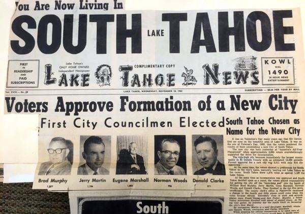 South Lake Tahoe — a 50-year work in progress