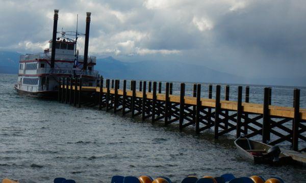 Tahoe piers-drought: Zephyr Cove
