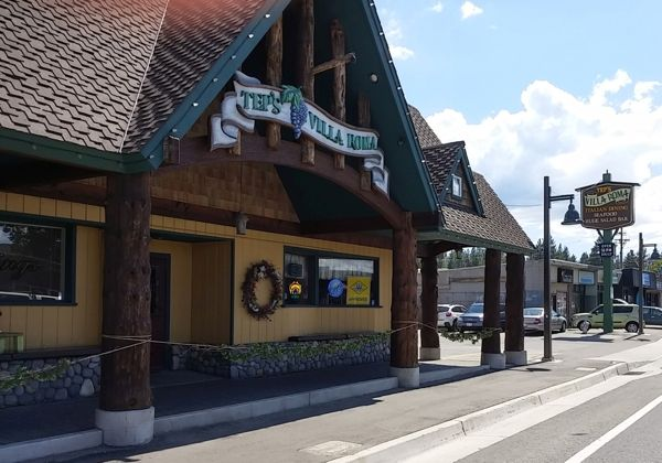 Then and now building businesses upgraded over time for Lake tahoe coin jewelry and loan