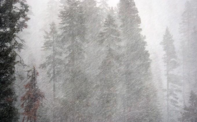 Tough trek to gauge California snow