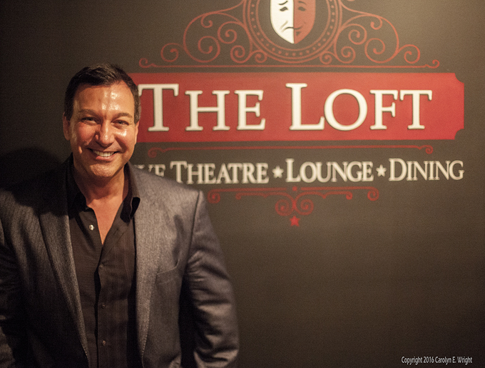 Paul Reder is the brains and inspiration behind The Loft.  Photo Copyright 2016 Carolyn E. Wright