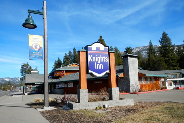 Knights Inn may be razed,  including Mo's Place. The recently paved sidewalks will stay intact. Photo/LTN