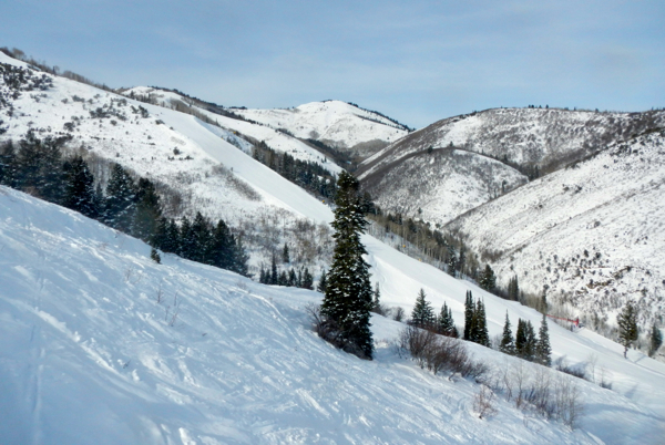 With the vast amount terrain, it would be hard to ski everything at Park City in one day. Photo/Kathryn Reed