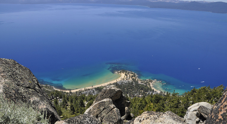 Rangers leading hikes to Sand Harbor overlook