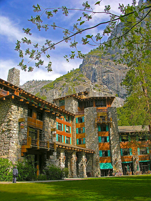 No matter what it's called, there is something magical about this lodge at Yosemite. Photo/Yosemite Hospitality