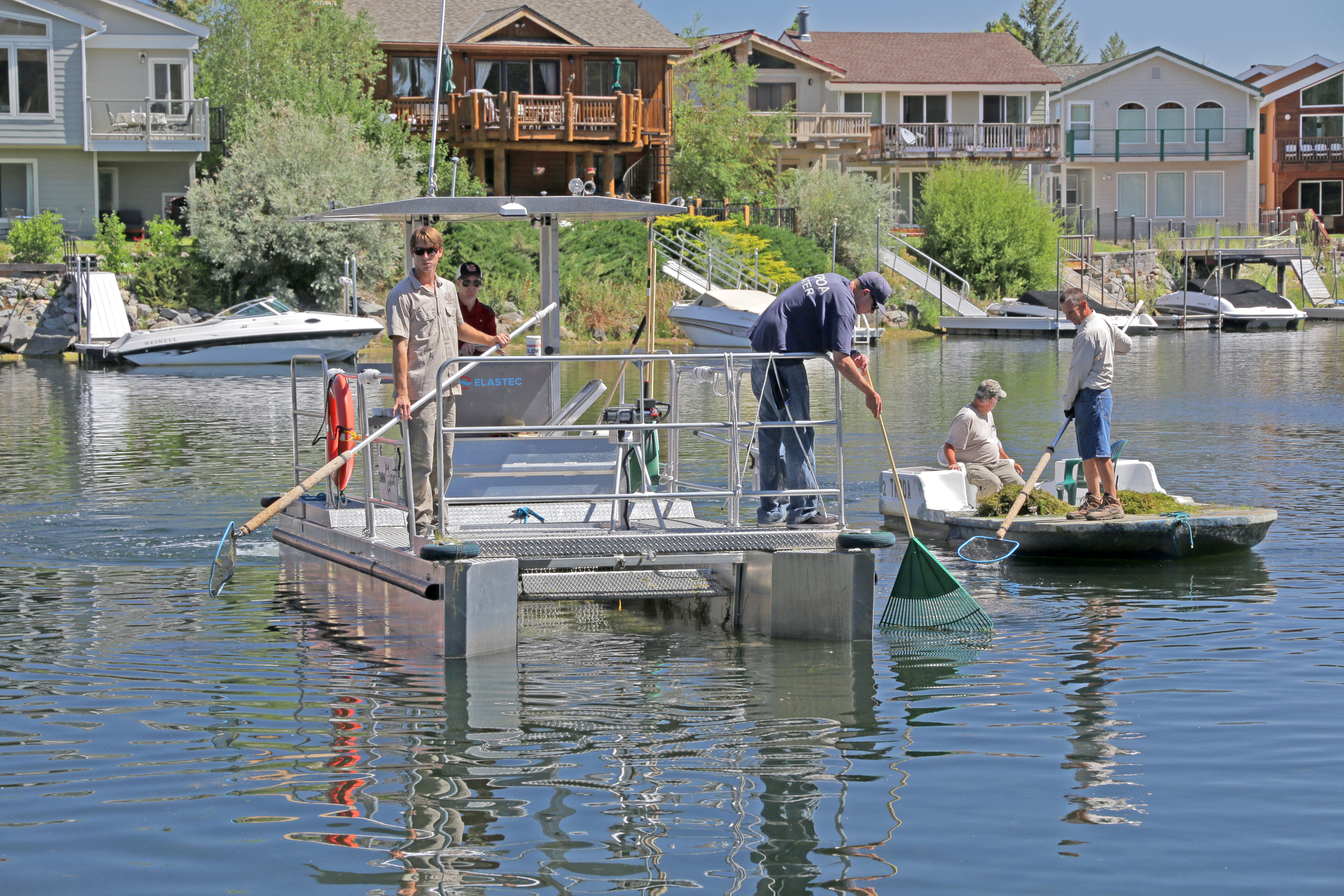 To learn more about the efforts in the Keys to combat aquatic invasive species, the community is invited to attend a public workshop on November 1, 6 to 8 p.m. at the South Tahoe Public Utility District Building, 1275 Meadow Crest Drive. Find out more at keysweedsmanagement.org