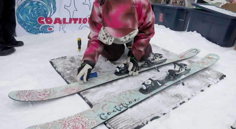 Backcountry demo day at Alpine Meadows