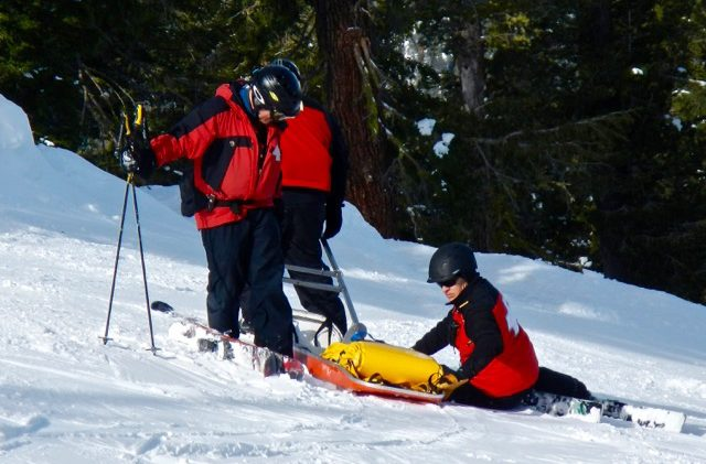 Massive snow means lots of work for ski patrollers