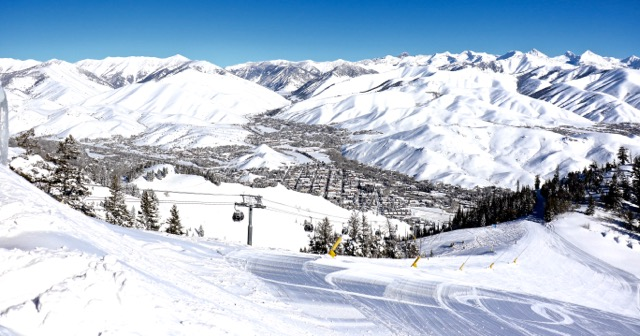 Sun Valley ski resort — a mountain of history