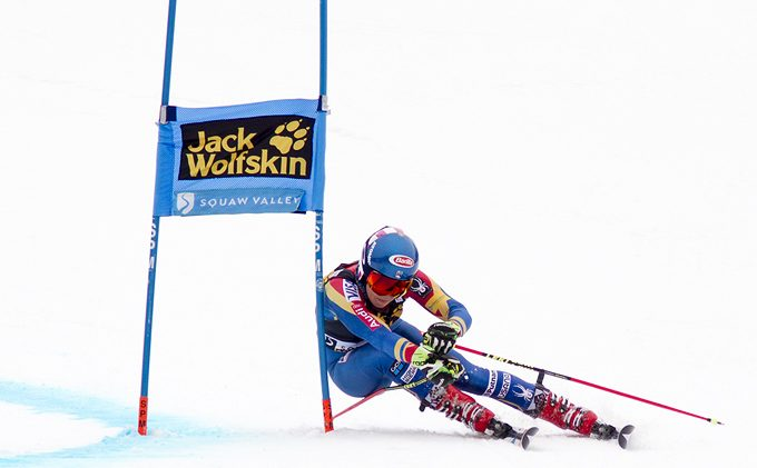Shiffrin top dog in GS at Squaw Valley