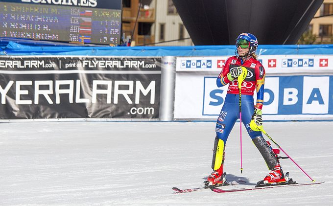 Squaw crowd cheers Shiffrin onto victory