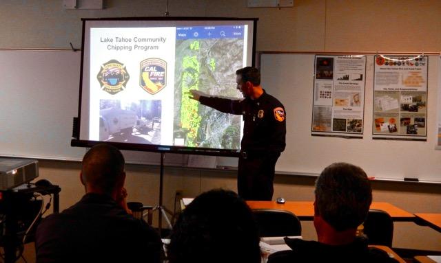 Fire crews working to make Tahoe basin safe