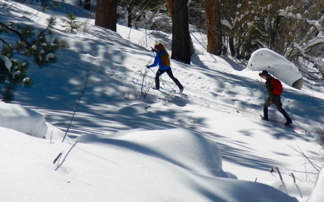 For some skiers, it's uphill all the way