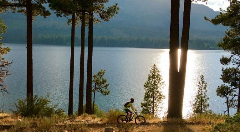 Bike trail expansion in Angora, Fallen Leaf region
