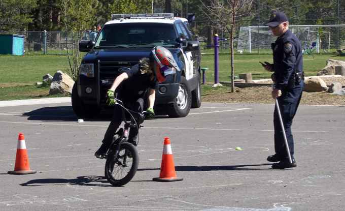 Bike safety a lesson for beyond the classroom