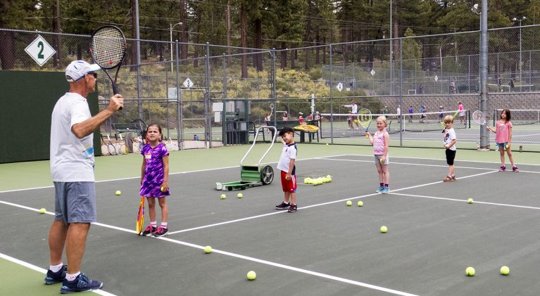 Youth tennis lessons available in Douglas County