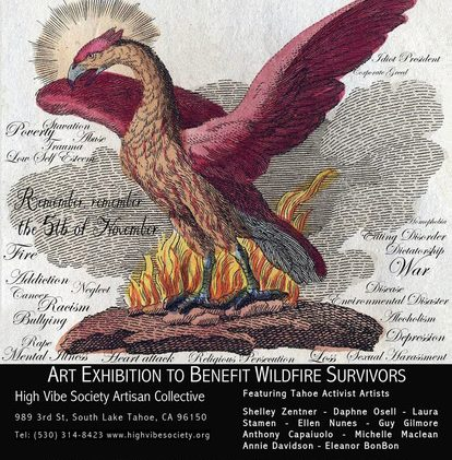 Tahoe Activist Artists' exhibition to benefit wildfire survivors