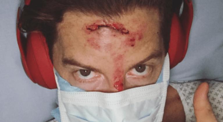 Snowboarder White's crash lands him in hospital