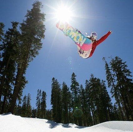 Anderson on track to conquer halfpipe
