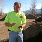 Craig Witt talks composting at Full Circle Compost. Photos/Kathryn Reed
