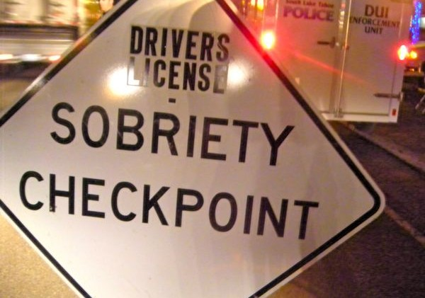 Memorial Day weekend DUI checkpoints