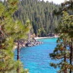 Increasing the clarity of Lake Tahoe is what theTMDL is all about. Photos/Kathryn Reed