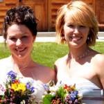 Jessie Marchesseau, left, at her sister, Summer's, wedding.