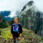 Kathryn Reed at Machu Picchu Sept. 11, 2001.