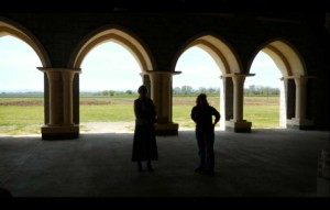 The Chapter House at the Abbey of New Clairvaux is a window to from the old world to the new world. Photos/Kathryn Reed