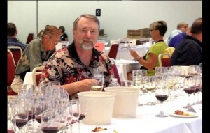South Lake Tahoe's Evan Williams at the 2013 California State Fair wine judging. Photo/Provided