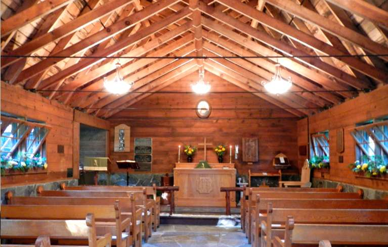 Services have been delivered at St. Francis of the Mountains for 90 years. Photos/Kathryn Reed