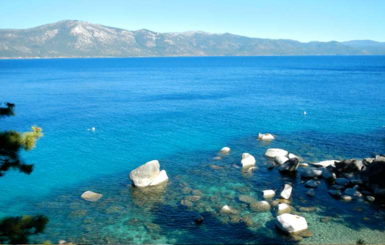 Lake Tahoe's clarity improved for the second consecutive year. Photo/Kathryn Reed