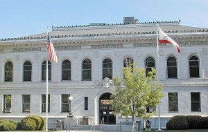 This is the courthouse in Placerville that would be replaced.