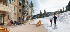 Northstar's slope are out the back door. Ski valet is provided as well as an area to warm boots.