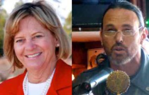 Sue Novasel and Kenny Curtzwiler move on to the November election.